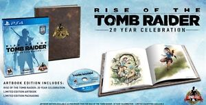 Rise of the Tomb Raider 20th anniversary edition