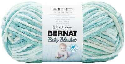 Baby Blanket Big Ball Yarn Blue Dreams 057355384262