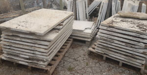 Smooth Polished White Marble Slabs