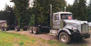 2003 WESTERN STAR TRACTOR and 2002 SUPERIOR TRAILER
