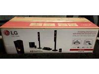 LG 3D Blu-ray Home cinema 1200w as new