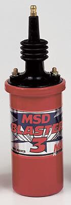 MSD8223 * MSD Blaster 3 Ignition Coil Red  45,000 V