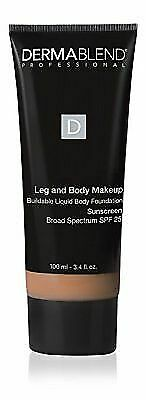 Dermablend Leg and Body Makeup Body Foundation SPF 25 Medium Natural 40N 3.4 oz
