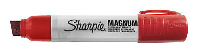 Sharpie Magnum Permanent Marker Extra Large Chisel Tip Red
