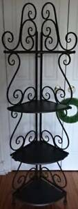 Provence Style Large Slate Iron Baker's Stand BRAND NEW Vaucluse Eastern Suburbs Preview