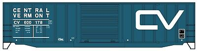 HO Scale - ACCURAIL 5661 CENTRAL VERMONT 50' Exterior Post Boxcar (Accurail Ho 50' Exterior Post)