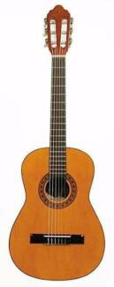 Small classical nilon string guitar for learner