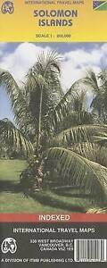 Solomon Islands 1:900,000 Travel Map (International Travel Maps) by ITM Canada