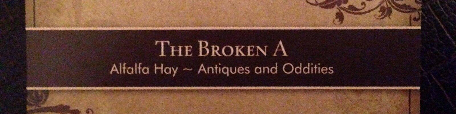 Broken A Oddities