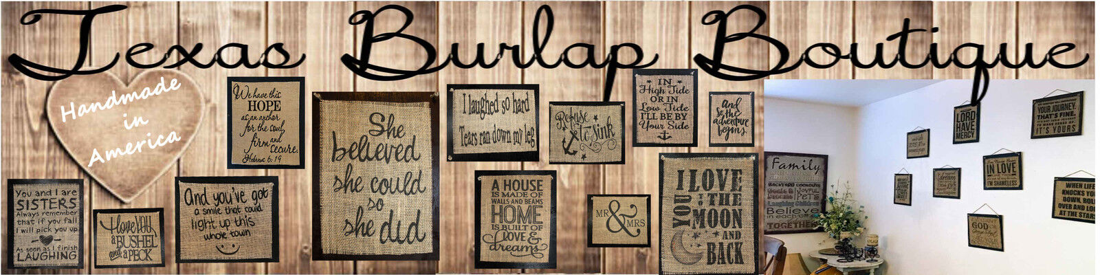 Texas Burlap Boutique