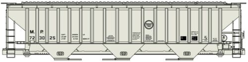 Accurail (HO) #80991 PS 3-Bay Covered Hoppers C&EI #716743 Kit