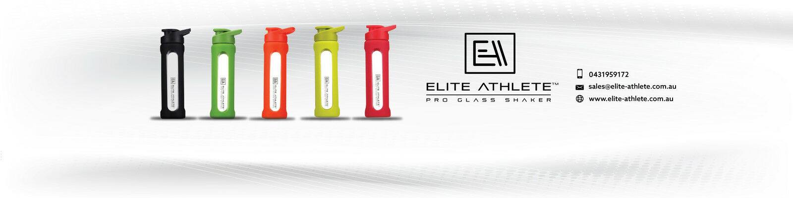 Elite Athlete Protein Glass Shaker