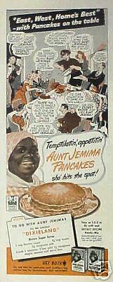 1944 Aunt Jemima Pancakes~Buckwheats Black Americana East~West