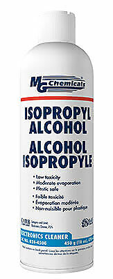 99.9 Isopropyl Alcohol Spray Cleaner Aerosol - 16oz Can - Mg Chemicals 824-450g