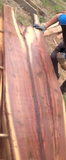 Ironbark Timber Slabs and off cuts