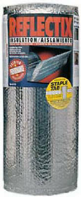 Reflective Insulation Double Bubble Foil Staple Tab 16-in. X 25-ft.