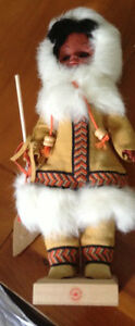 Vintage dressed Eskimo doll for sale