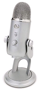 Blue Yeti Microphone (silver)