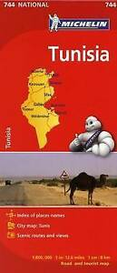 Michelin Tunisia by Michelin (Sheet map, folded, 2012)