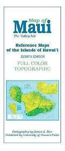 NEW Map of Maui: The Valley Isle (Reference Maps of the Islands of Hawaii)