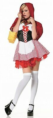 Leg Avenue Lil' Red Riding Hood Costume 83220 Red/White XS](Lil Red Costume)