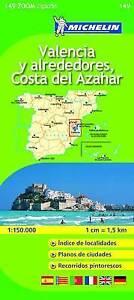 Valencia C. D. Azahar Map - new 2016 - Michelin 149 - zoom mapping - Spain