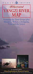 Yangzi River Map, Richard Hayman