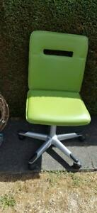 Green Computer Desk Chair Excellent Condition $20 obo