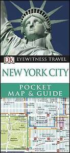 DK Eyewitness Pocket Map and Guide: New York City, DK, New Book