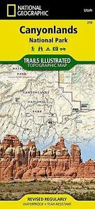canyonlands national geographic trails illustrated