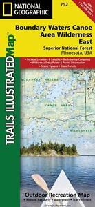 Boundary Waters Canoe Area East: Trails Illustrated Map: Outdoor Recreation Map
