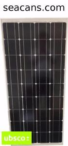 100W UBSCO MONO-CRYSTALLINE SOLAR PANEL