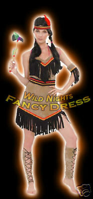 ***SALE*** Fancy Dress Costume - Fun Deluxe Indian Lady Small - Sales Lady Kostüm