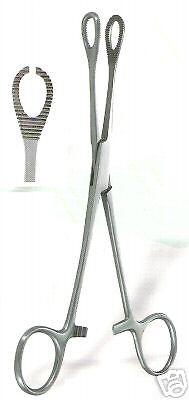 Body Piercing Forceps Kit Hemostat Sponge Clamp 6 Straight New