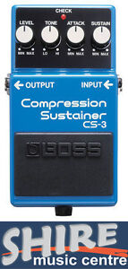 Boss CS3 Compressor Effects Pedal - Brand New!