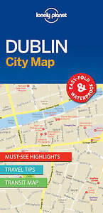 DUBLIN 2017 LONELY PLANET CITY MAP9781786575081