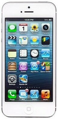 Apple iPhone 5 16   GB Silver Smartphone available at Ebay for Rs.10999