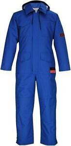 ACTIONWEST COVERALLS NOMEX FR LINED BLUE XL