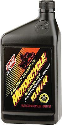 3 PACK OF KLOTZ KL-840 Motorcycle TechniPlate Oil - 10W/40 - 32oz - Qty (3)