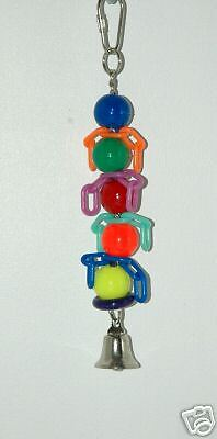 RAINBOW CHAINS SMALL SMALL & MEDIUM BIRD PARROT TOY