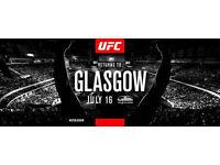 UFC Glasgow 16 July 2017