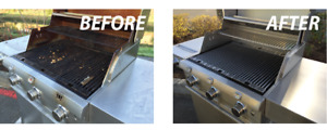 Professional barbeque cleaning