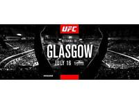 UFC Glasgow tickets