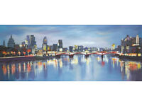 A signed, limited edition, Paul Kenton, Distant Reflections LND on Canvass