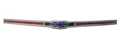 1965 Chevrolet Impala Bel Air Biscayne Hood Emblem Trim Parts - #2412
