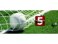 5 a side football players needed