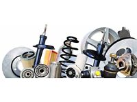 JOBLOT OF GENUINE CAR PARTS STRUTS,SPRINGS,WISHBONES,CLUTCH/BRAKE CABLES