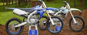 2018 Yamaha YZ450F! Snowbike it! $99 Bi-Weekly OAC!