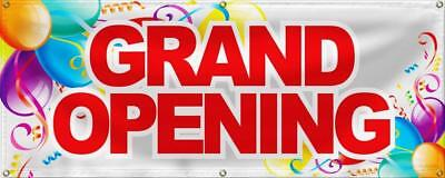 Wall26 Grand Opening Banner Sign Store Signs Flag - 24x60
