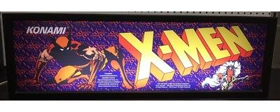 X-Men Arcade Marquee Light Box, used for sale  New Kensington